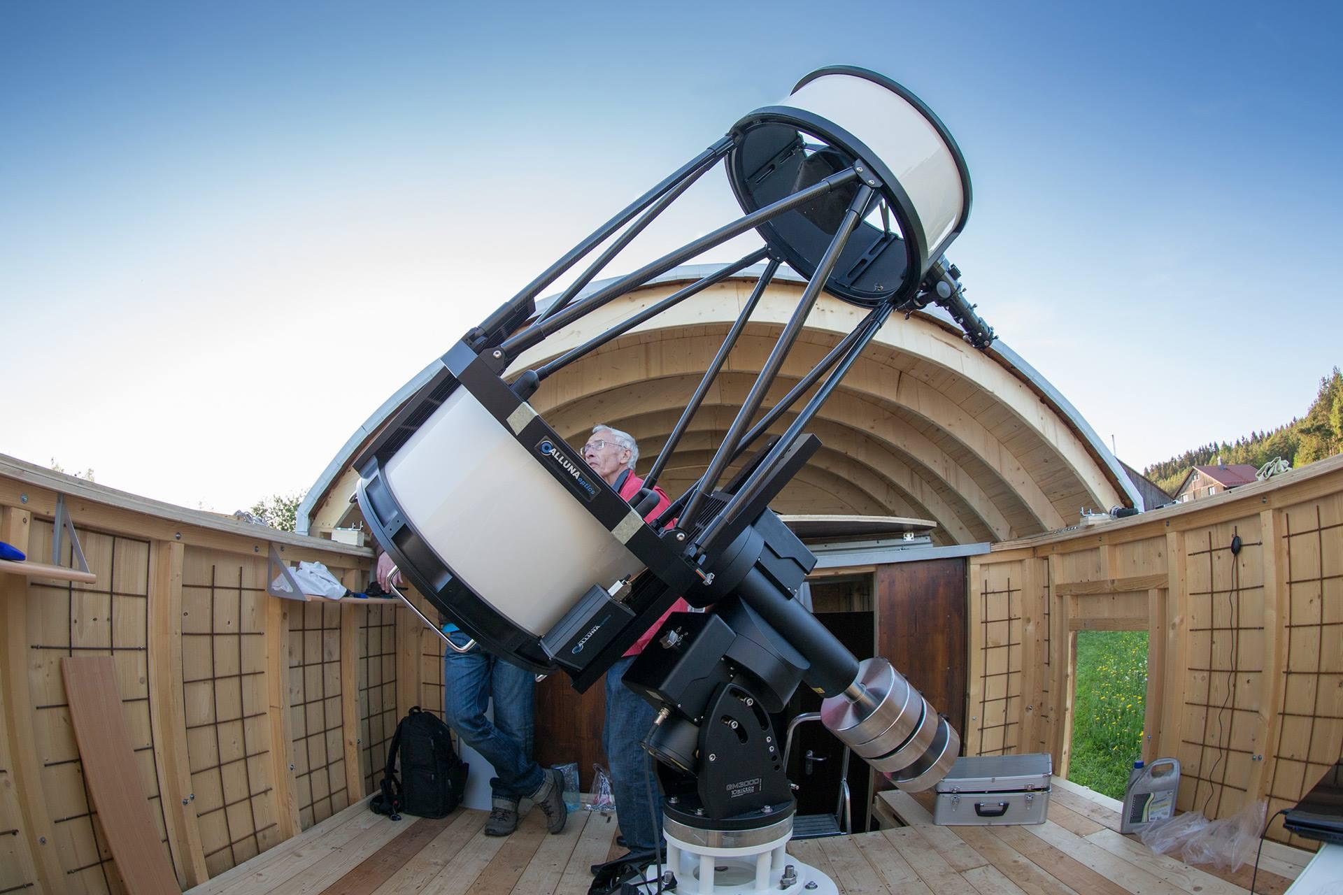 Alluna optics kunden teleskope für die astrofotografie